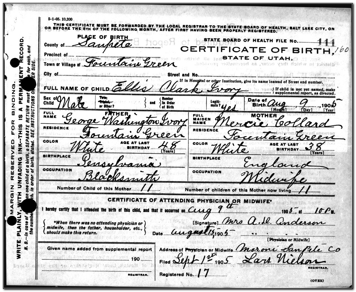 Washington County Pa Birth Certificate Copy