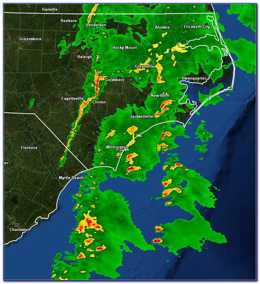 Weather Map Nc
