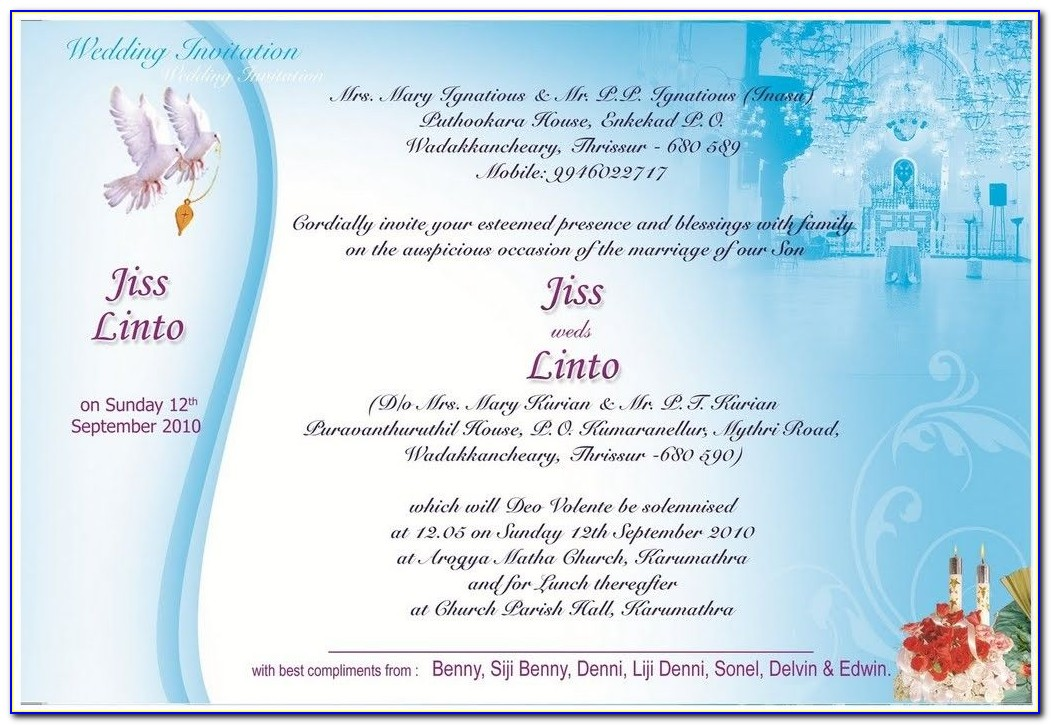 Wedding Invitation Email Sample To Colleagues