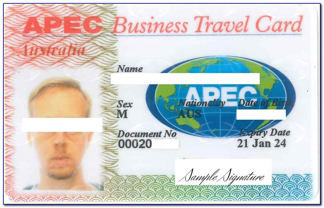What Is Apec Business Travel Card Abtc