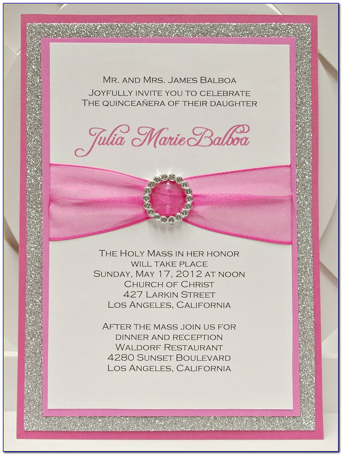 What To Write On A Quinceanera Invitation