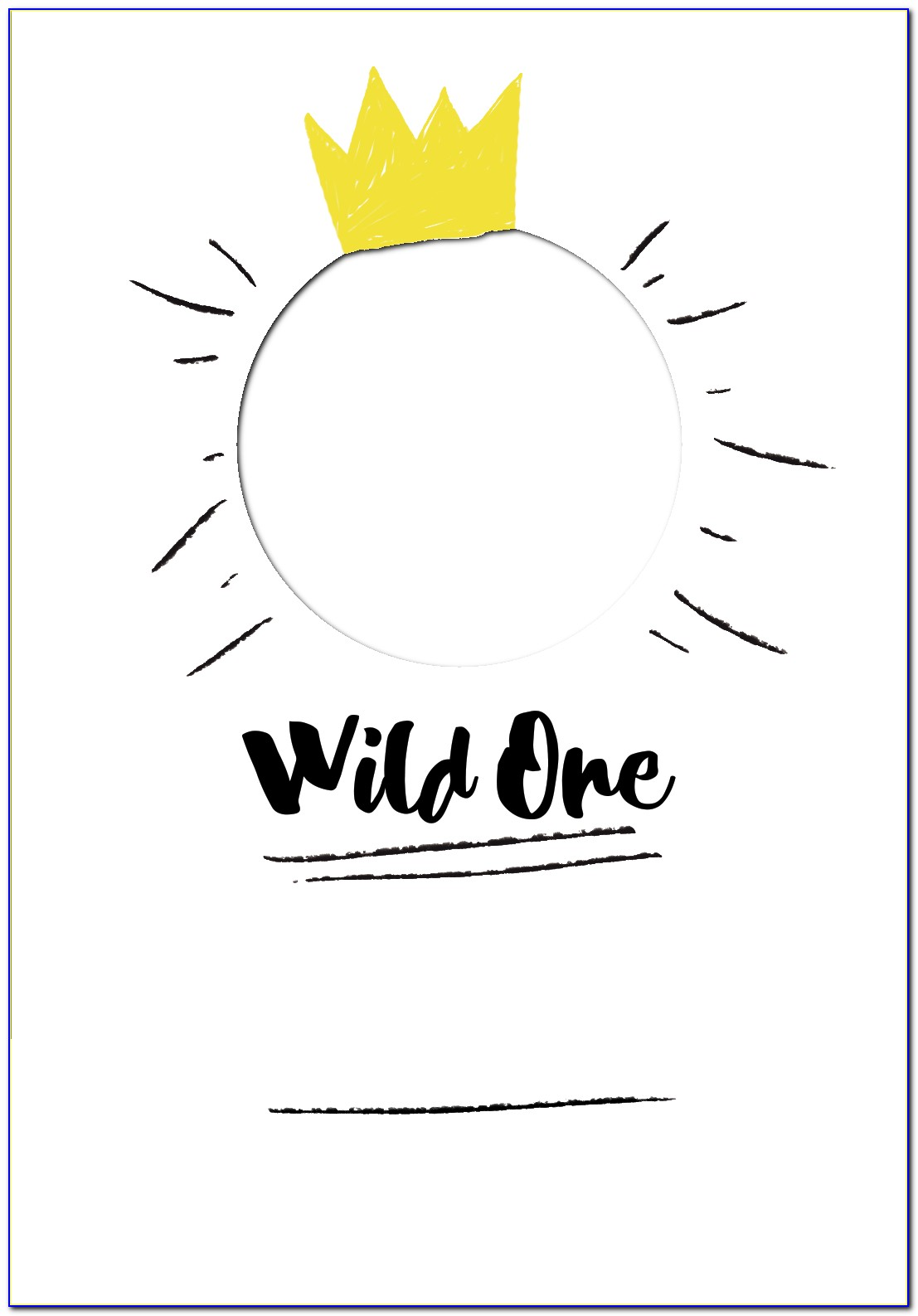 Where The Wild Things Are First Birthday Invitations