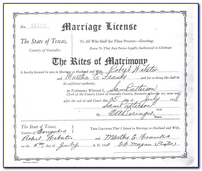 Where To Get Copy Of Marriage Certificate In Tennessee