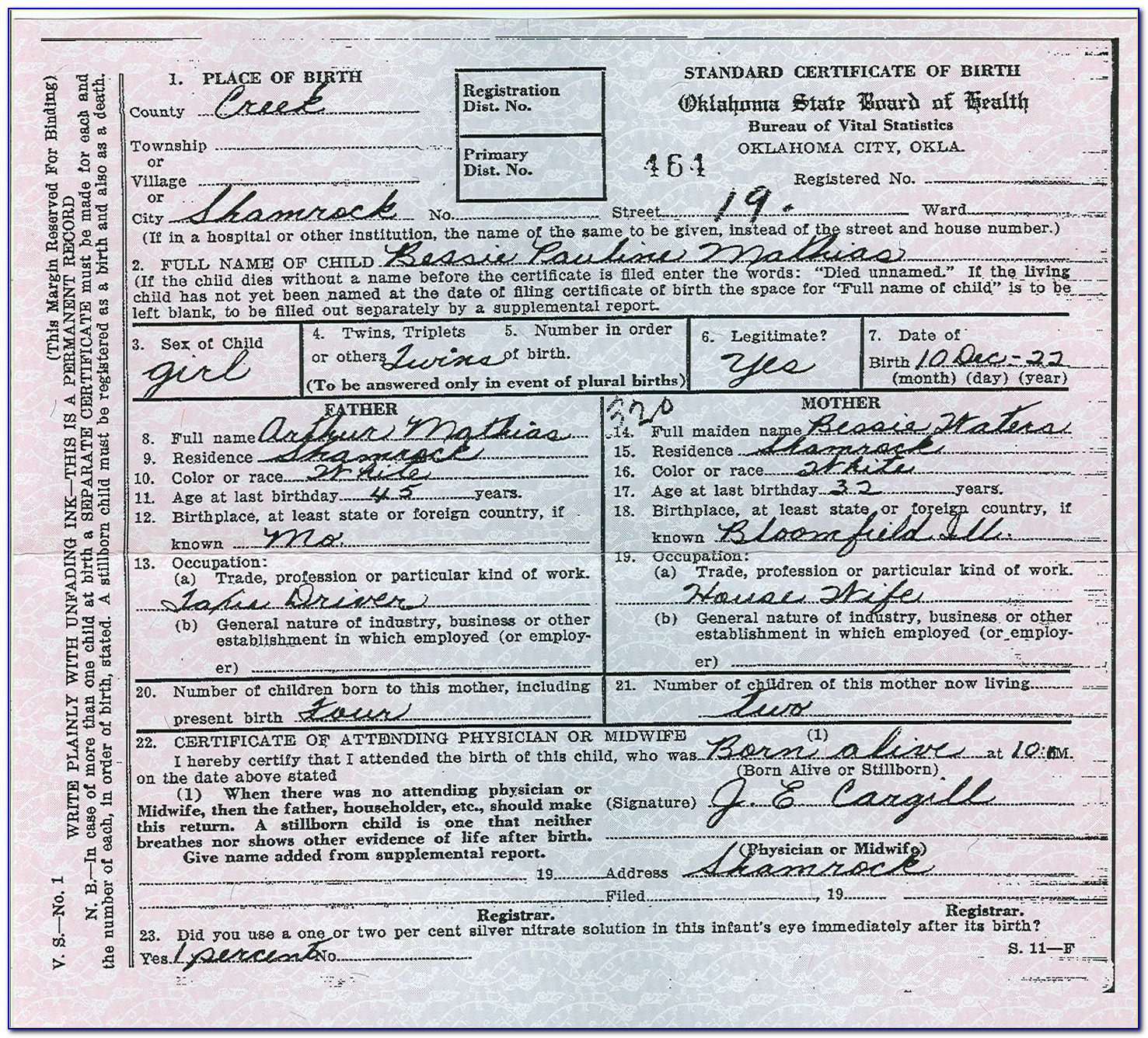 Where To Get My Birth Certificate In Oklahoma