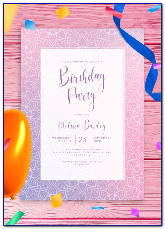 Where To Order Birthday Invitations Online