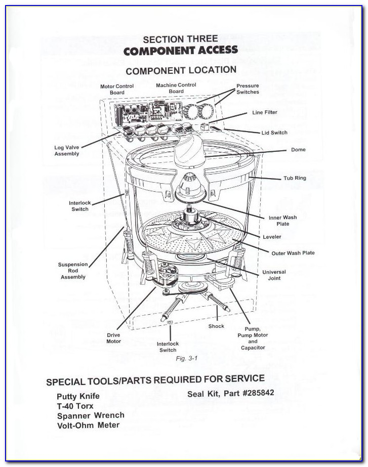 Whirlpool Gas Dryer Electrical Diagram