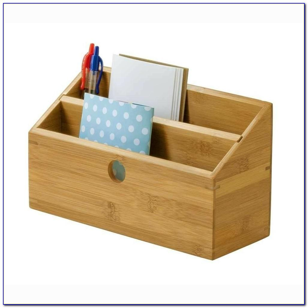 Wood Stacking Letter Tray