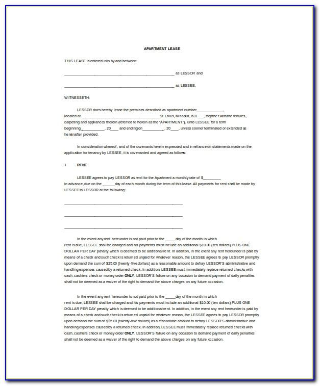 Word Template Lease Termination
