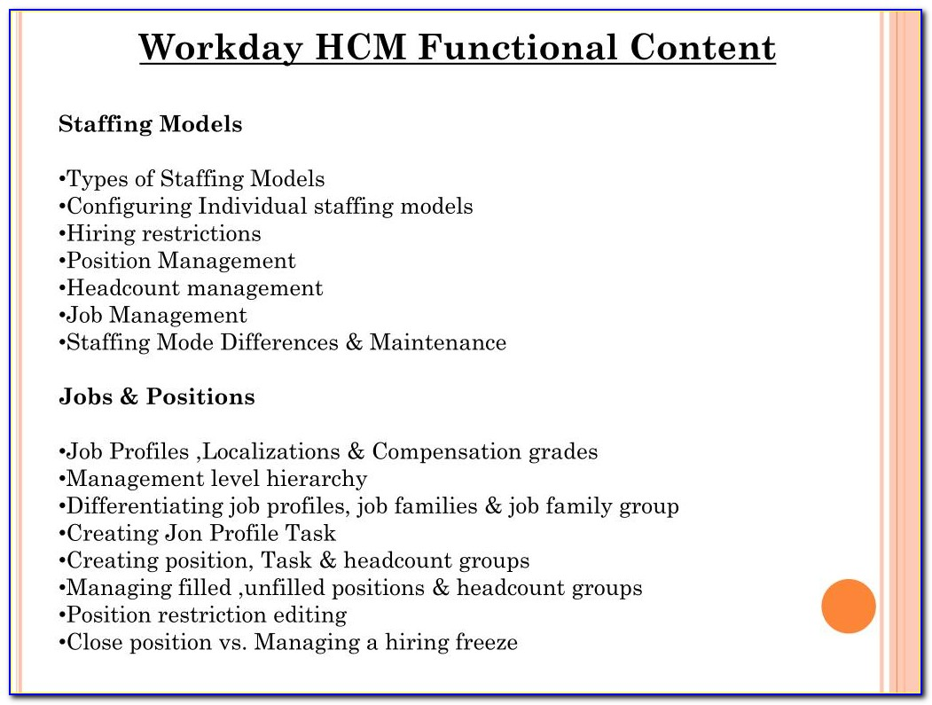 Workday Hcm Certification Test