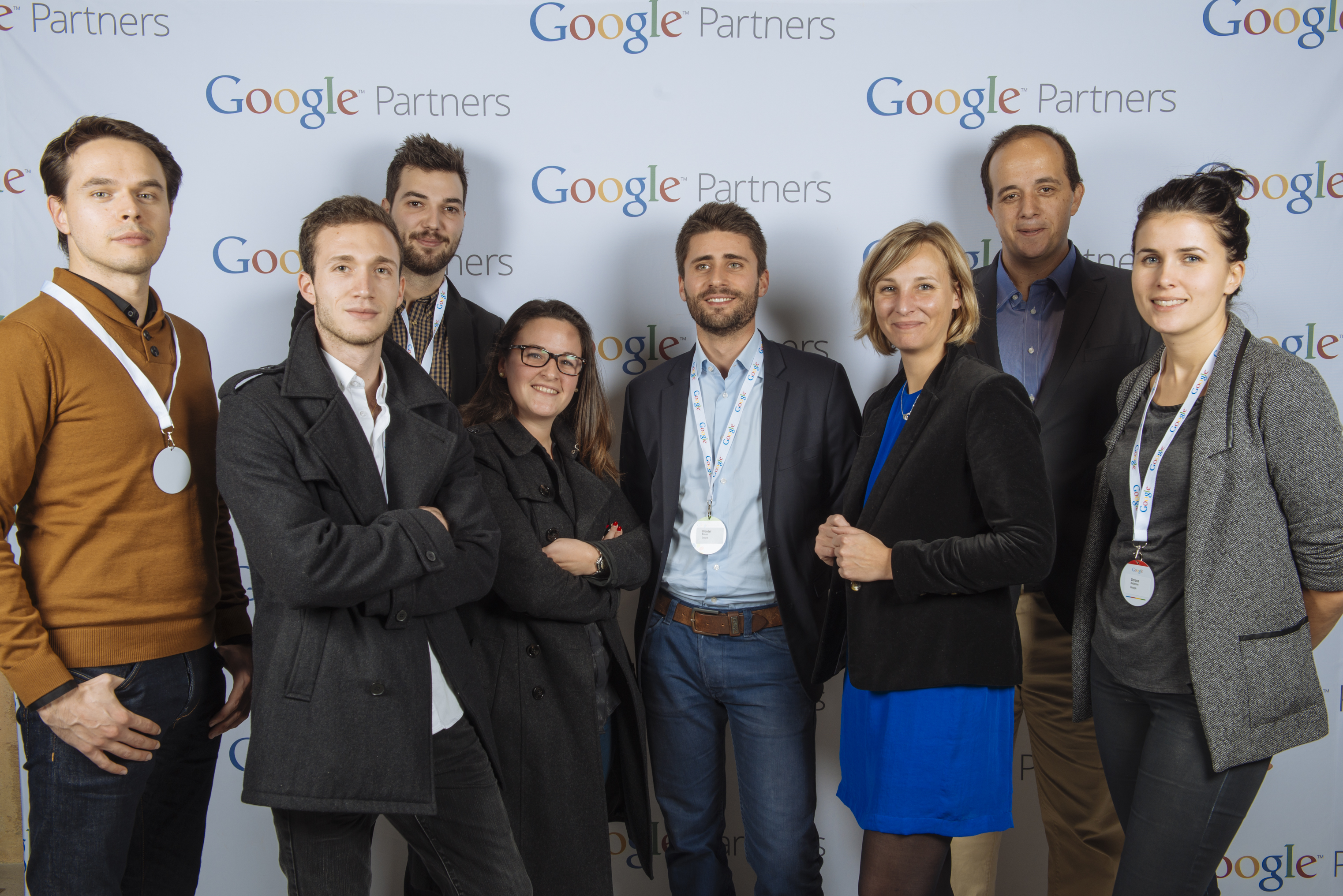 La team Google académies à Bordeaux
