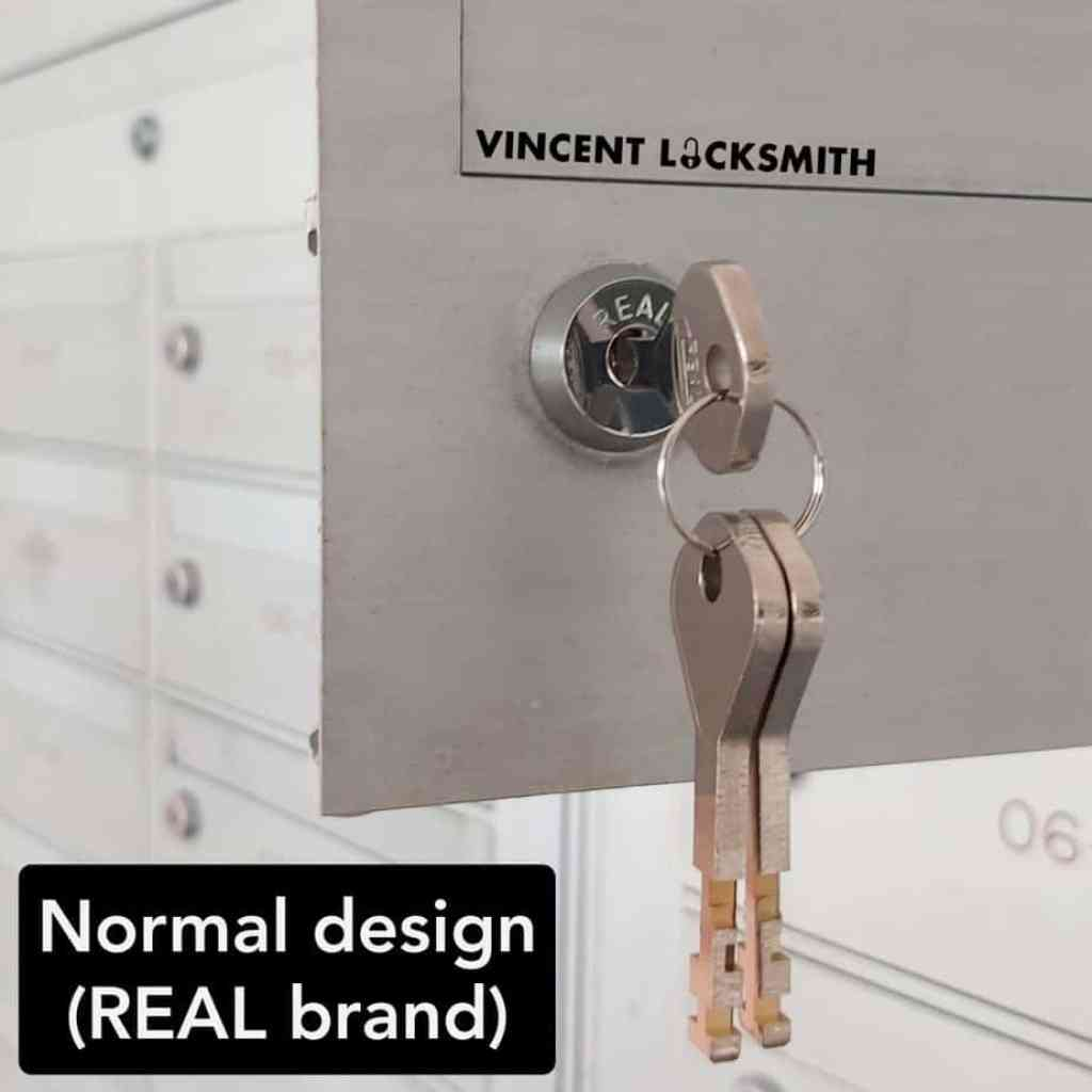 Normal design REAL brand letterbox lock