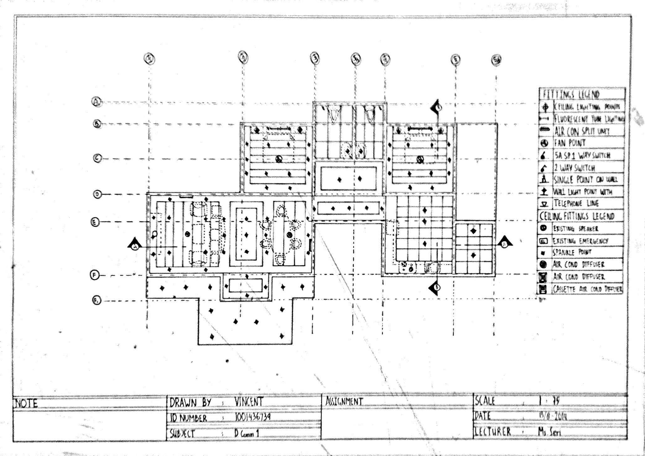 Assignment 4 Multi View Drawing Plan Vincentlunia