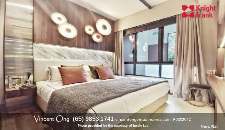 Fourth Avenue Residences Showroom call 98531741