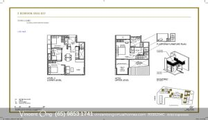 Parksuites 3 Bedroom Dual Key call 98531741