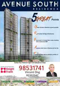 Avenue South Residence @ Silat Avenue call 6598531741
