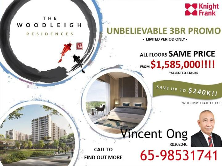 New Launch The Woodleigh Residences September 2019 Promotion, call 6598531741