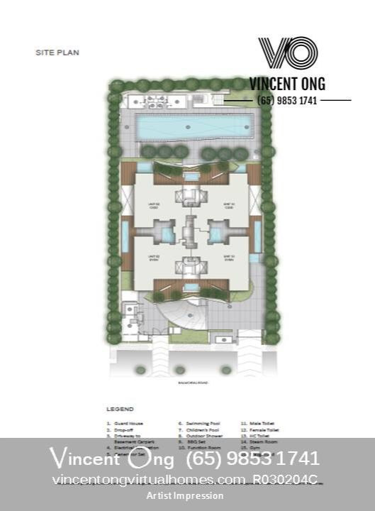 The Oliv Site Plan