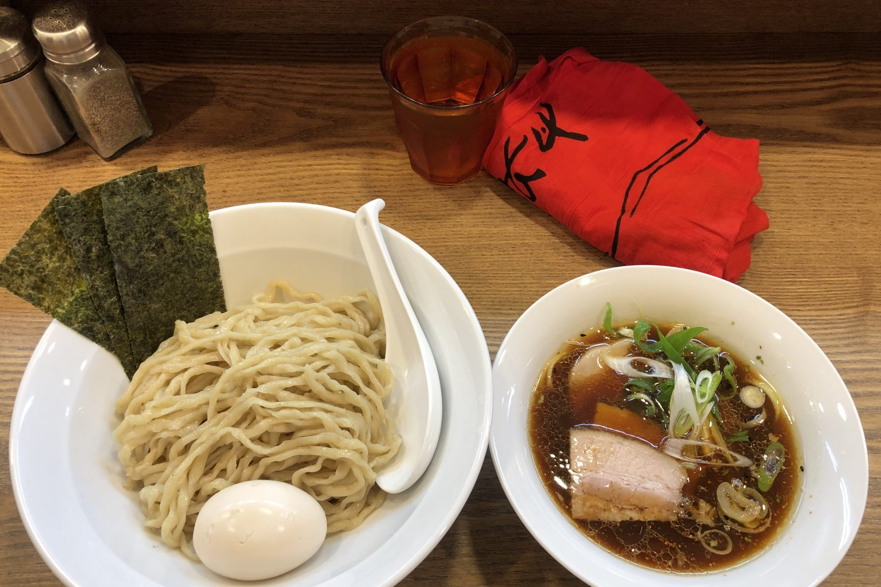 Tsukemen at Yama to ki