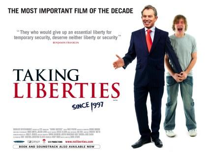 'Taking Liberties' poster