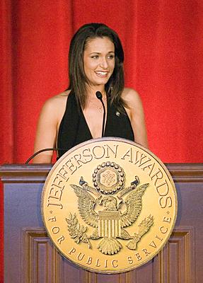 Vincenza Carrieri-Russo Wins Jefferson Award