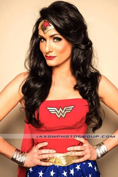 Vincenza Carrieri Russo is Wonder Woman