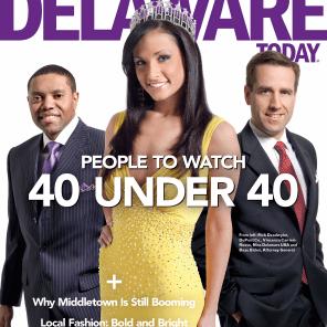 Top 40 Under 40 Delaware Today Magazine