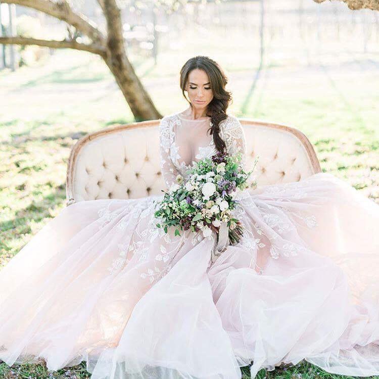 Vincenza Carrieri Russo Bridal Model