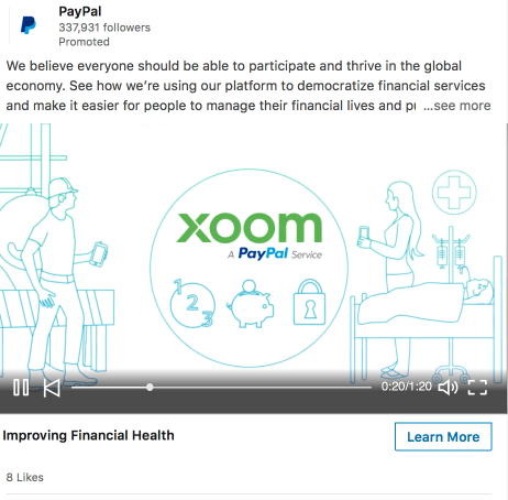 Ads LinkedIn Video