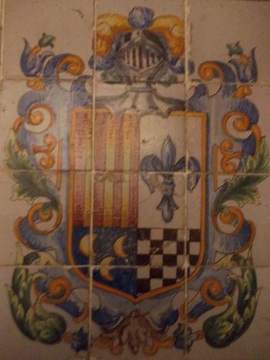 Stemma Famiglia D'Aragona D'Alba Giffone