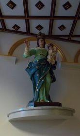 Statua della Madonna del Rosario dI Maropati opera dei Morano