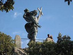 Statua del Redentore monte Ortobene Nuoro