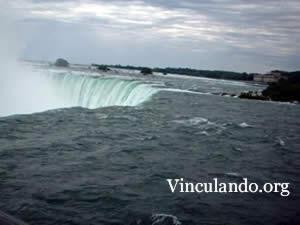 Niagara falls (detail)