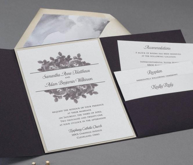 Custom Wedding Invitations Schenectady Ny Vincy S Printing