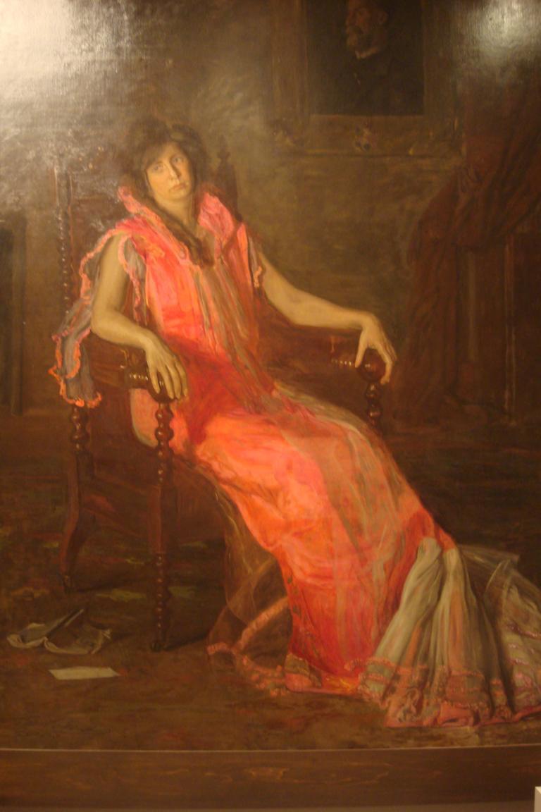 Eakins Actress, 1903-1