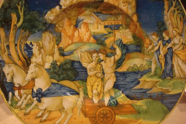 Pluto Abducting Persephone, 1530, PMA Oct. 2015-1