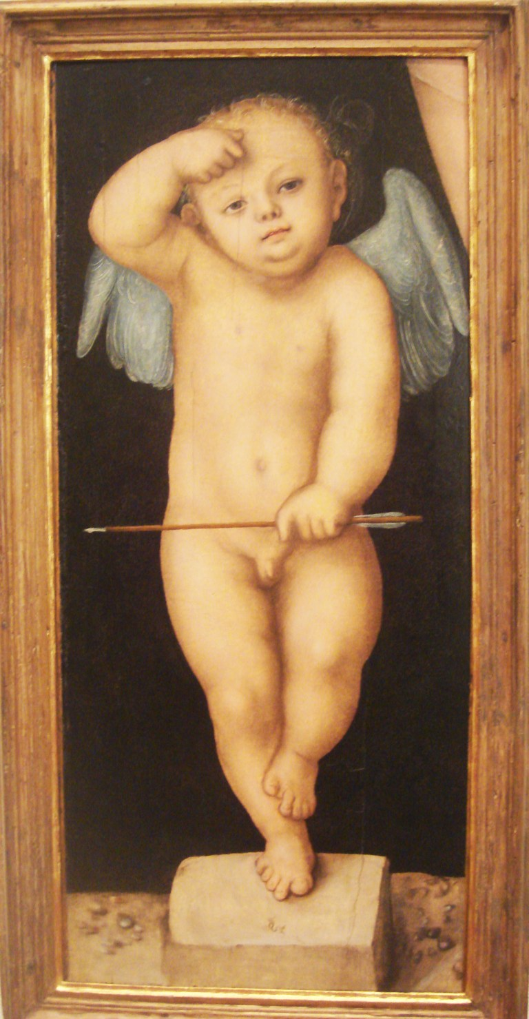Cupid, 1593, Lucas Cranach the Elder, PMA-1