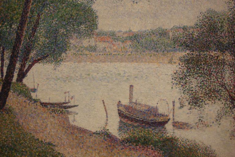 Seurat, Gray Weather, Grande Jatte, 1886-88-1