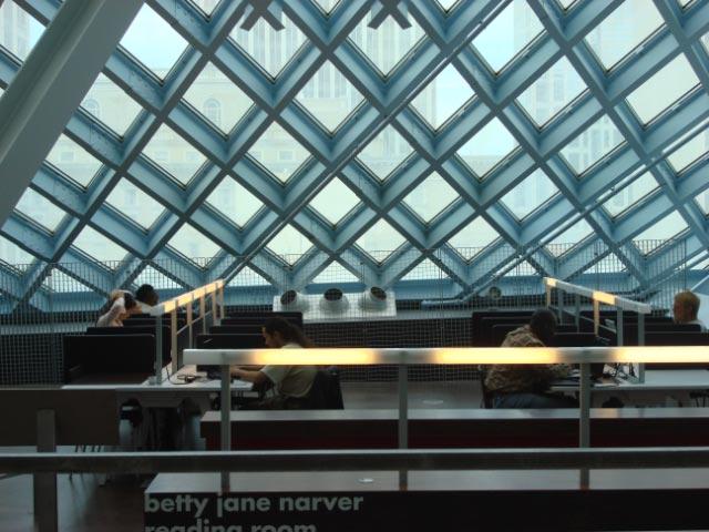 Rem Koolhaas' Seattle Public Library July 09 58