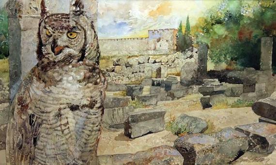 Jerry-Pinkney-The-Owl-and-Jerusalem