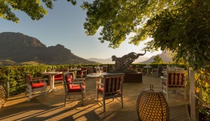 Delaire Graff - known as the 'gem of the winelands'