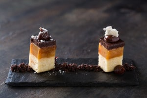 The delicious pairing of Millionaire's Shortbread with Benguela Cove's Liquid Gold