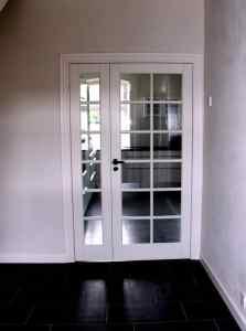 Nye indvendige døre - Ny fransk dør
