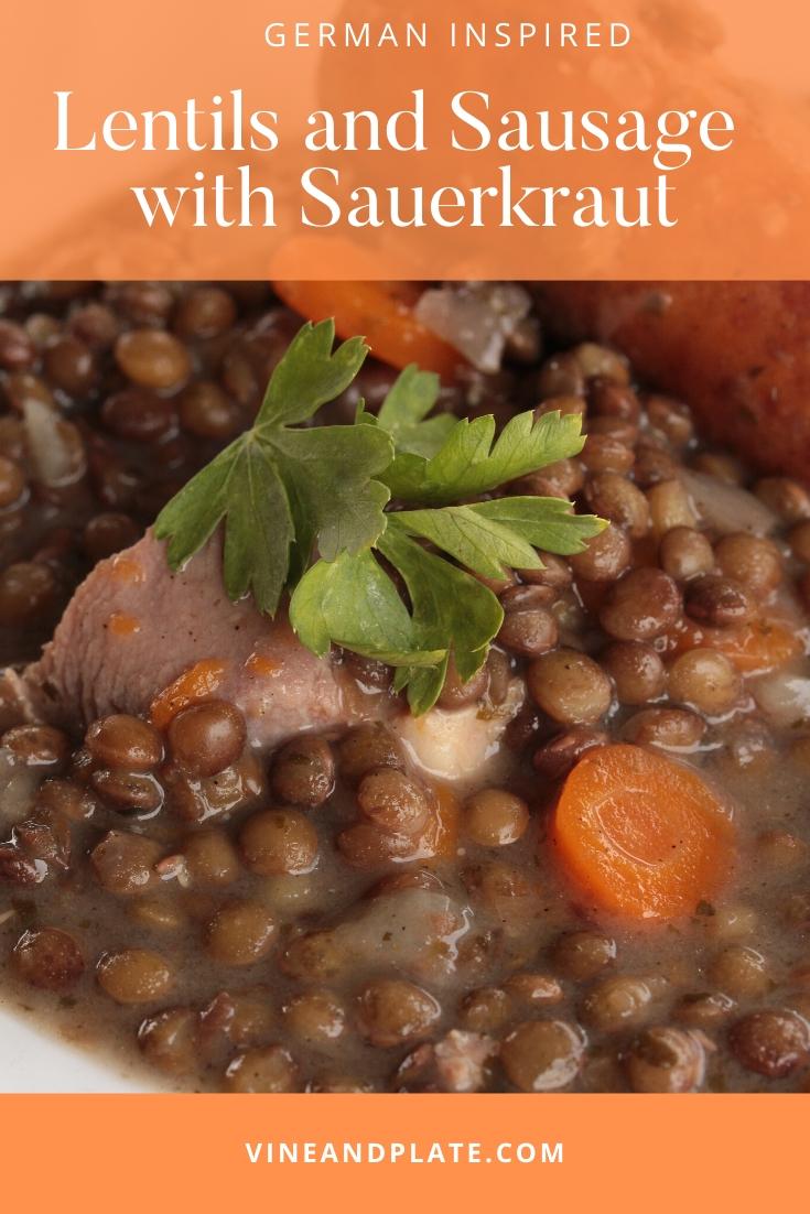 easy-lentils-sausage