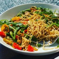 veggie stir fry noodles