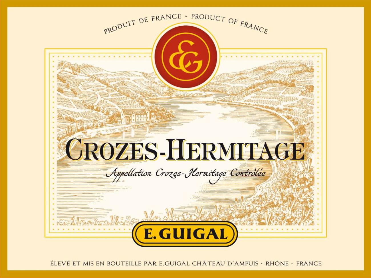 Crozes-Hermitage 2016 label
