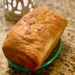 buttermilk sourdough bread loaf