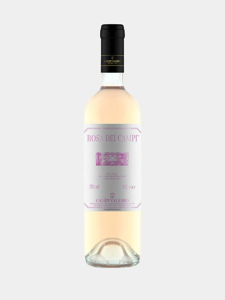 Bottle of Rosa Dei Campi Rose Wine from Campi Valerio sold by Vine & Soul