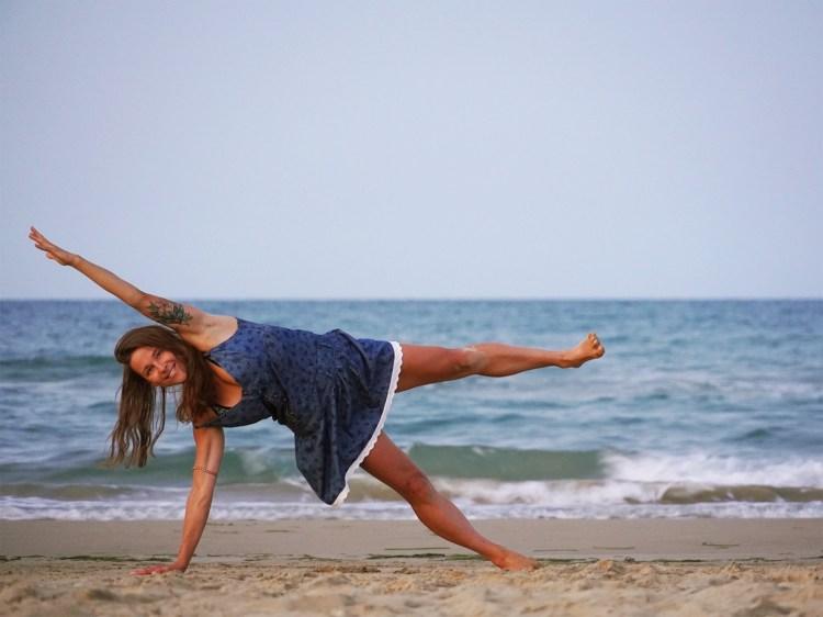 Ewa On Beach Yoga