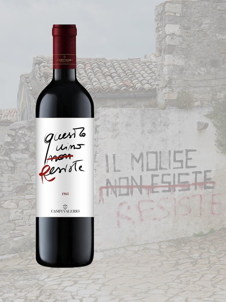Bottle of Questo Vino Resiste from Campi Valerio