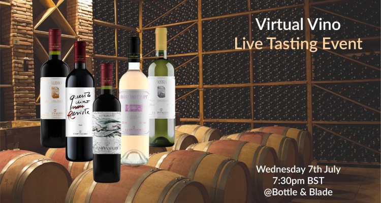 Virtual Vino Wine Club Campi Valerio Tasting Event